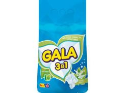 Пральний порошок Gala Свежесть ландышей 3 кг (4823055200432)