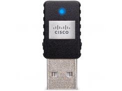 Мережева карта Wi-Fi LinkSys AE6000 до 430Mbps, 802.11 b/g/n/ac, USB, BOX