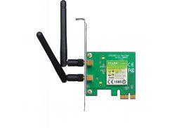 Мережева карта Wi-Fi TP-Link TL-WN881ND до 300Mbps, IEEE 802.11 b/g/n, PCI-ex, BOX