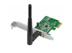Мережева карта Wi-Fi ASUS PCE-N10 до 150Mbps, IEEE 802.11 b/g/n, PCI-ex