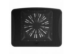 Підставка до ноутбука Deepcool N300 340 x 266 x 57 мм, 558 г, чорна, 1 вентилятор, метал