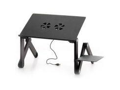 """Столик для ноутбука UFT Sprinter T6 420 х 275 мм, 480 мм, до 17"""", 2 вентилятори, 1.7 кг"""