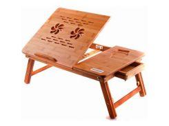 Підставка до ноутбука UFT T26 540 х 350 мм, 540 х 350 х 50 мм, 3.4 кг, дерево, 2 вентилятора, бамбук