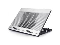 Підставка до ноутбука Deepcool N9 380 x 279 x 34 мм, 1.7 кг, сріблястий, 1 вентилятора, пластик + ал
