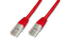 Патч-корд 1м DIGITUS (DK-1511-010/R) UTP, 1 м, 5е, червоний