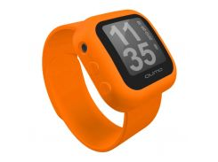 "mp3 плеєр Qumo QUMO Sportswatch 4GB Orange (QUMO SPORTSWATCH 4GB orange) 4 GB, 1.1"" LCD,  128 x 128,"
