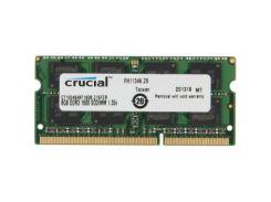 """Модуль пам""""яті для ноутбука SoDIMM DDR3 8GB 1600 MHz MICRON (CT102464BF160B) DDR3, 8 GB, 1, 1600 МГц"""
