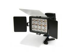 Спалах PowerPlant Накамерный свет PowerPlant LED 1040A (LED1040A) Canon, Nikon, Panasonic, Samsung,