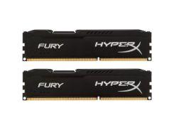 """Модуль пам""""яті для комп""""ютера DDR3 8GB (2x4GB) 1600 MHz LoFury Black Kingston (HX316LC10FBK2/8) 2, 1"""