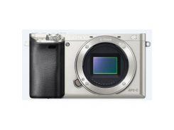 Цифровий фотоапарат SONY Alpha 6000 kit 16-50mm Silver (ILCE6000LS.CEC) КМОП (CMOS), 23.5 х 15.6 мм,