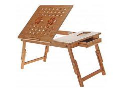 Підставка до ноутбука UFT T28 540 х 340 мм, 540 х 340 х 50 мм, 2.5 кг, дерево, 2 вентилятора, 370 мм