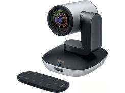 Веб-камера Logitech PTZ Pro 2 (960-001186) 1920 x 1080 пікселів, 2.0 МП, 3 м, Full HD, USB 2.0, авто