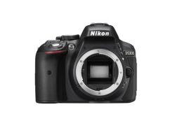 """Цифровий фотоапарат Nikon D5300 body (VBA370AE) 23, 5 х 15, 6 мм, 24.2 Mpx, Залежить від об""""єктива,"""