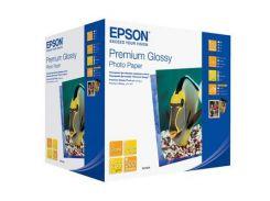 Папір EPSON 10х15 Premium Glossy Photo (C13S041826) струменевий, білий, 250 г/м2, глянець, 500