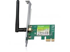 Мережева карта Wi-Fi TP-Link TL-WN781ND до 150Mbps, IEEE 802.11g/n, PCI-ex