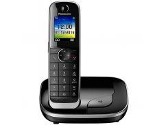 Телефон DECT PANASONIC KX-TGJ310UCB чорний (Black), кольоровий, 40 мелодій, автодозвон, немає, немає