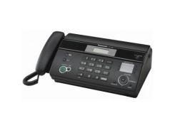 Факсимільний апарат PANASONIC KX-FT984UA-B чорний, на термопапері, автообрізка, так, так, дротова тр