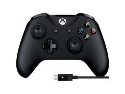 Геймпад Microsoft Xbox One Controller + USB Cable for Windows (4N6-00002) Bluetooth