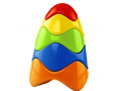 Развивающая игрушка Kids II Красочная пирамидка (81106)