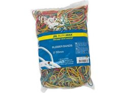 Резинки для денег BUROMAX JOBMAX assorted colors, 200г (BM.5503)