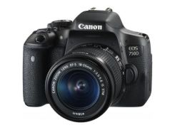 Цифровой фотоаппарат Canon EOS 750D 18-55 IS STM Kit (0592C027)