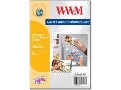 Папір WWM 10x15 Magnetic (G.MAG.F5) струменевий, білий, 650г/м2, глянець, 5