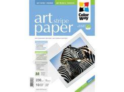 Папір ColorWay A4 ART (ПГА230-10) (PGA230010SA4) струменевий, білий, 230 г/м2, глянець, 10