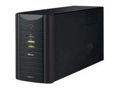 Пристрій безперебійного живлення Trust UPS Oxxtron 1000VA UPS (17680) 560 Вт, 1000 В*А, 6.89 кг