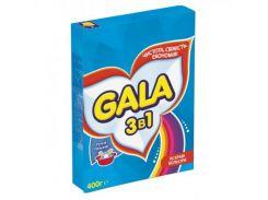 Стиральный порошок Gala 3в1 Яркие цвета 400г (5410076265831)