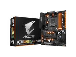 Материнська плата GIGABYTE GA-AX370-GAMING K5 ATX, Socket AM4, 2-Way AMD CrossFireX, AMD Quad CrossF