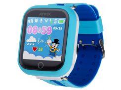 Смарт-часы ATRIX Smart watch iQ100 Touch Blue