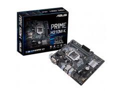 Материнська плата ASUS PRIME H310M-K Micro-ATX, Socket 1151, 8-е покоління Intel Core i7 / Core i5 /