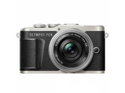 Цифровий фотоапарат OLYMPUS E-PL9 14-42 mm Pancake Zoom Kit black/silver (V205092BE000) КМОП (CMOS),