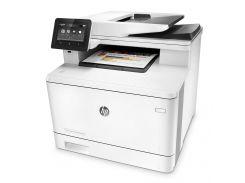 Багатофункціональний пристрій HP Color LJ Pro M477fdn (CF378A) лазерна, кольорова, A4, 600 x 600, пл