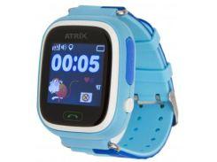 "Смарт-годинник ATRIX SW iQ400 Touch GPS BL 1.22"", Android 4.3, iOS 8, 2 доби, 40 г, синій"