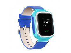"Смарт-годинник GoGPS ME K10 Синие (К10СН) 0.66"", Android, iOS, до 3 днів, 35 г, синій"