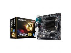 Материнська плата GIGABYTE GA-J3455N-D3H Mini ITX, З вбудованним процесором, Intel, Intel Celeron Qu