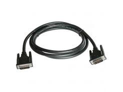 Кабель мультимедийный DVI to DVI 24+1pin, 3.0m PATRON (CAB-PN-DVI-DVI-30)