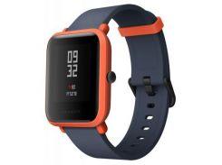 "Смарт-годинник Amazfit Bip Cinnabar Red (UYG4022RT) 1.28"", Android 4.4, iOS 8, до 45 днів, 32 г, чер"