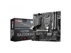 Материнська плата MSI H370M BAZOOKA Micro-ATX, Socket 1151, 8-е покоління Intel Core / Pentium / Cel