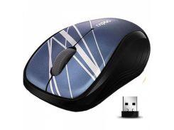 """Мишка Rapoo 3100p Blue для комп""""ютера, для ноутбука, оптичний, 1000 dpi, радіо"""