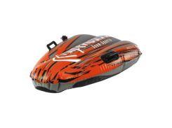 Санки Alpen Gaudi Alpen Speed Flash серо-оранжевые (4020716899702)