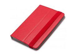 "Чохол до планшета AirOn Universal case Premium 7-8"" red (4821784622093) 7, 8, гумовий шнурок, штучна"