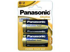 Батарейка PANASONIC LR20 PANASONIC Alkaline Power * 2 (LR20REB/2BP)