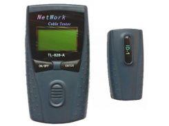 Тестер кабельний Hypernet STP/UTP, коаксиал, телефония, LCD дисплей (NCT-LCD2) RJ-11, RJ-45, STP, UT