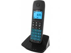 Телефон DECT Alcatel E192 Black (3700601417180) чорний (Black), монохромний, монофонічні, 10 мелодій