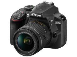 Цифровой фотоаппарат Nikon D3400 AF-P 18-55 Non-VR KIT (VBA490K002)