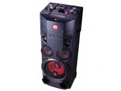Магнітола LG OM7560 1.0, 1000 Вт, AUX, CD, USB, радіо, CD-R, CD-RW, MP3-CD, USB, WMA-CD, AUX, Blueto