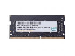 """Модуль пам""""яті для ноутбука SoDIMM DDR4 8GB 2400 MHz Apacer (AS08GGB24CEYBGH) DDR4, 8 GB, 1, 2400 MH"""