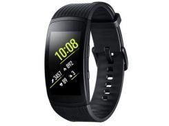 Фітнес браслет Samsung Gear Fit 2 Pro Black large (SM-R365NZKASEK) Android, iOS, Super AMOLED, GPS,